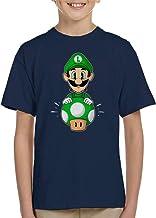 Cloud City 7 Luigi Pop Super Mario Bros Kid's T-Shirt