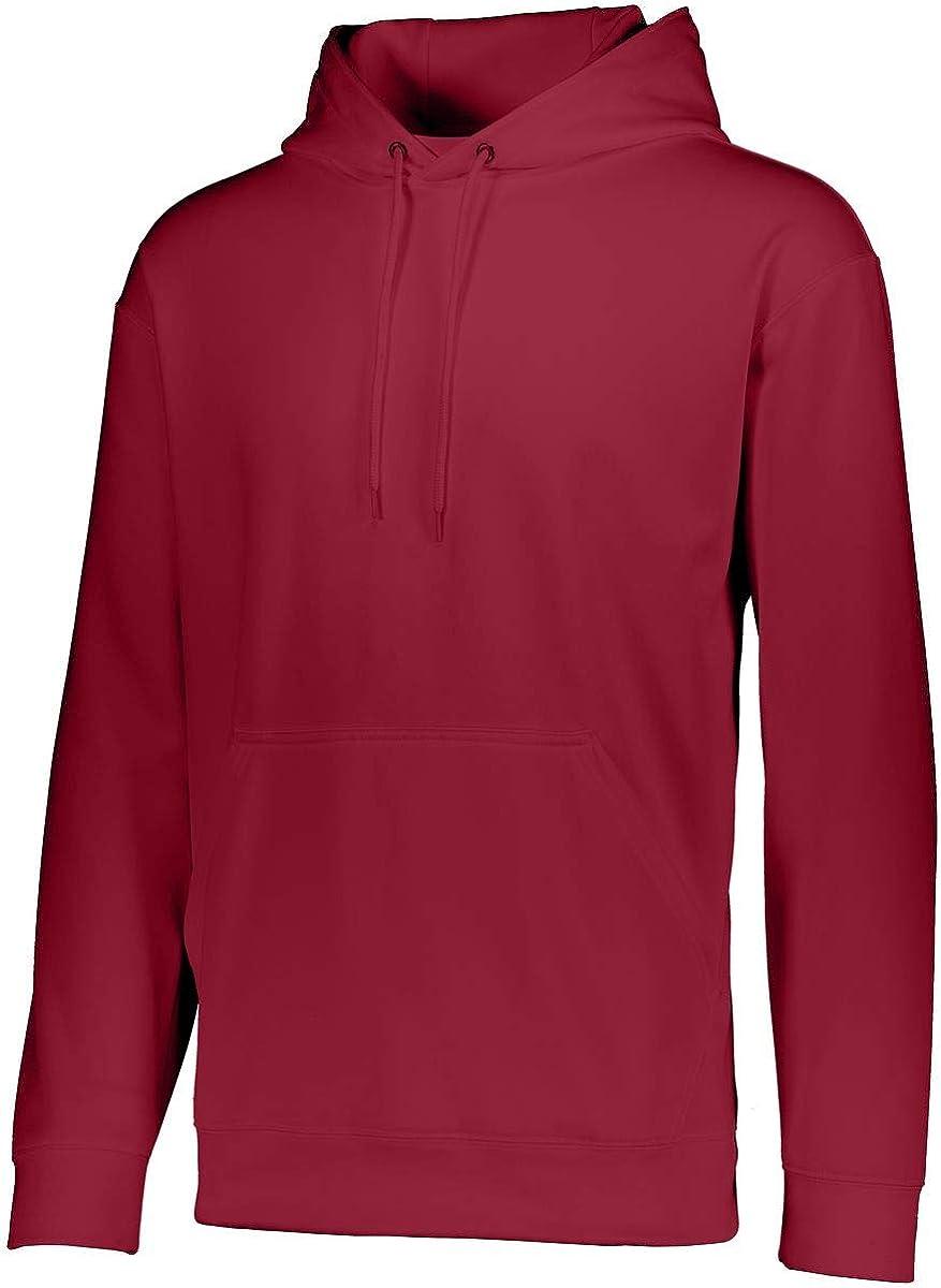 Augusta Sportswear Youth Wicking Fleece Hoodie M Cardinal
