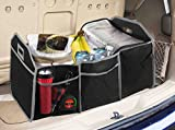 Home Basics Collapsible Trunk Organizer with Insulated Cooler
