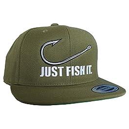Casquette: Fish it – Poisson – Pêcheur/Casquette/Bonnet/Képi/Unisex/Snapback/Cap/Basecap/Toque/Pêche/Cadeau pour un…
