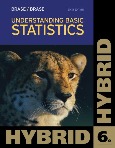 Understanding Basic Statistics, Hybrid (with Aplia Printed Access Card) (Cengage Learning's New Hybrid Editions!)