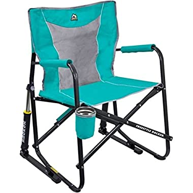 GCI Outdoor Freestyle Rocker Mesh Chair (Seafoam)