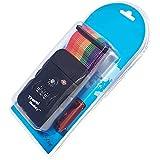 TSA sicurezza Cinghie per valigie - formato 200cm x 5 cm - 3 con linea combinazione della ...