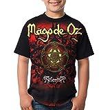 Camisas con Camisetas de Mago De Oz Rock Band Camisetas para Hombres/Mujeres