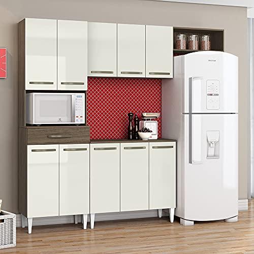 Cozinha Compacta Isadora Com Torre Quente 1 Forno Aramóveis