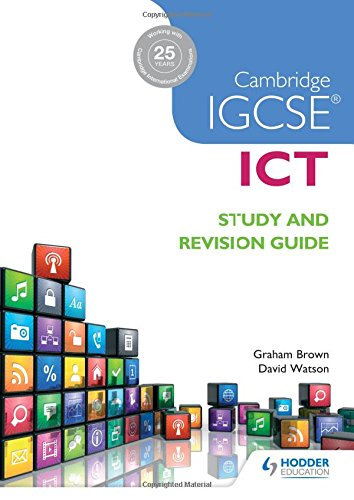 Image OfCambridge IGCSE ICT Study And Revision Guide
