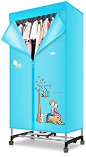 Miialz Clothes Dryer Quick Drying Machine Large Capacity 15kg Double Layer Stainless Indoor Wet Laundry Warm Air Drying Wardrobe