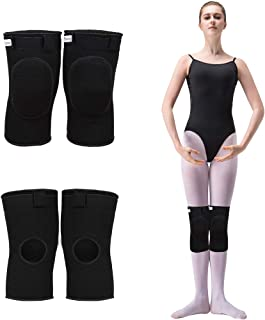 Bezioner Knee Pads for Dancer Knee Compression Sleeves Support for Women Girls Boys Adult