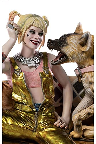 Estátua Harley Quinn & Bruce Deluxe - Birds Of Prey - Art Scale 1/10 - Iron Studios
