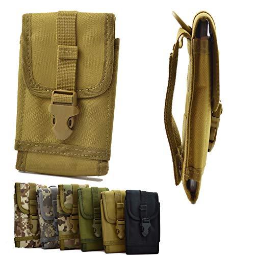 ikracase Outdoor Hülle für Caterpillar CAT S60 Smartphone Gürteltasche Schutz-Hülle Tasche Hülle Cover Holster in Khaki