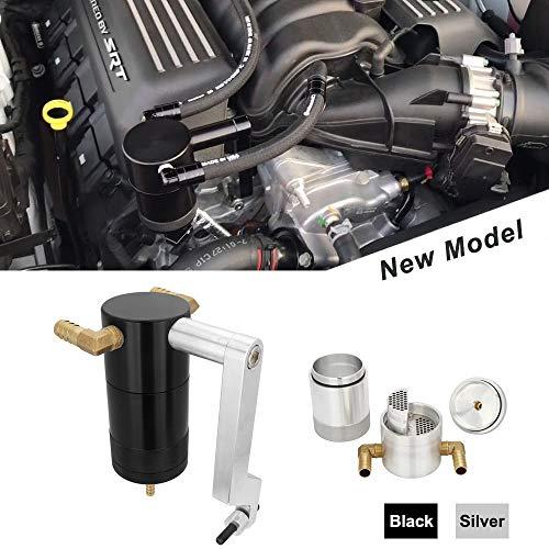 Kyostar Billet Oil Catch Can For Dodge Charger Challenger Chrysler 300 5.7L 6.4L HEMI Technology Z-Bracket Scat Pack (New Model)