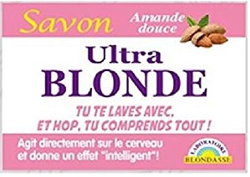 TONERRE Lot De 3 Savons Humoristique Ultra Blonde