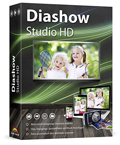 Diashow Studio HD - Slideshow Maker - Einzigartige Diashows erstellen mit Foto und Musik für Windows 10 / 8.1 / 7 / Vista