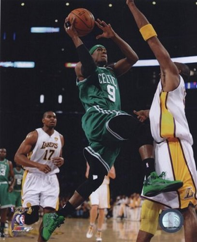Rajon Rondo Game Two of the 2009-10 NBA Finals(#5) Stampa fotografica (40,64 x 50,80 cm)
