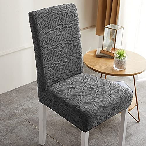 Stretch Dining Chair Cover with Backrest List price Jacquard Fiber Deluxe