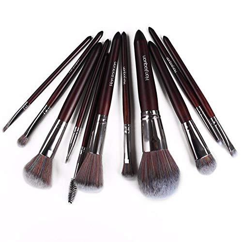 WBXZAL-Pinceau de maquillage balais brosses à cosmétiques mis 11 coloré outils de cosmétiques brosses de cosmétiques