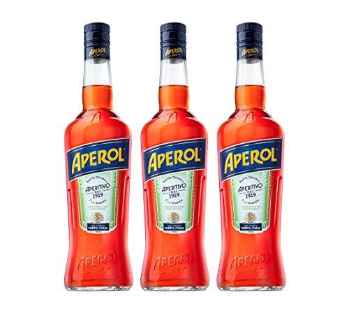 Aperol Aperitivo, 11% / Aperol Spritz - Italien's Nr. 1 Cocktail, 3 x 0,7 l