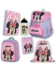 Minnie, set zaino per la scuola, 6 pezzi, OXY BAG Premium