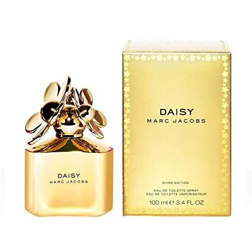 Marc Jacobs Daisy Gold Eau de Toilette Spray, 3.4 Ounce | Limited Edition