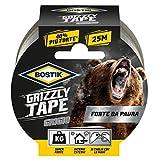 Nastro telato Bostik Grizzly Tape grigio 25m x 50mm