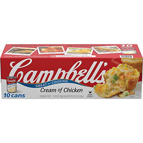 Campbell's 10 Piece Condensed Cream of Chicken Soup, 6 Pound