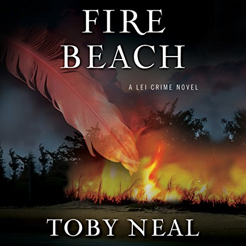 Fire Beach audiobook cover art