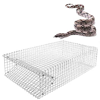 AmazingTraps The Amazing Humane Snake Trap - Catches and Release All Kinds of Snakes - Reusable!
