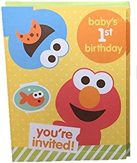 Best baby elmo birthday invitations Reviews