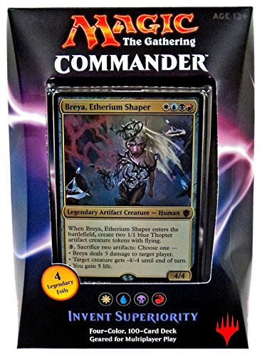 Wizards of the Coast MTG Commander 2016 Invent Superiority Deck