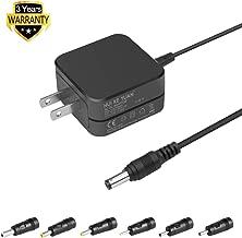 HKY Universal Power Adapter 6V 500MA DC 5.5x2.1mm Plug with 6 Connectors (3.5x1.35mm/2.5x0.7mm/5.5x2.5mm/4.8x1.7mm /5.5x1.7mm /4.0x1.7mm) Replacement for Motorola VTech & Most Brand Baby Monitors