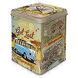 Nostalgic-Art Teedose - Volkswagen - VW Bulli - Let's get lost (für 100g)
