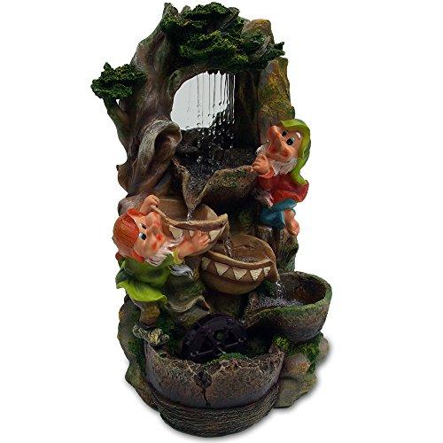 BricksNmortar.com Gnome Falls Cascading Water Fountain