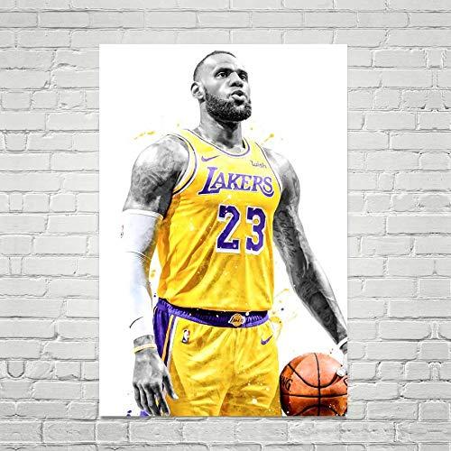Amazon Com Lebron James Art Print Lebron James Poster Los Angeles Lakers Poster Nba Poster Basketball Wall Art Basketball Decor Sports Art Print Man Cave Gift Handmade