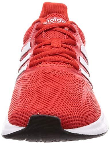 adidas Runfalcon, Zapatillas de Running para Hombre, Rojo (Active Red/ Ftwr White/ Core Black), 41 1/3 EU