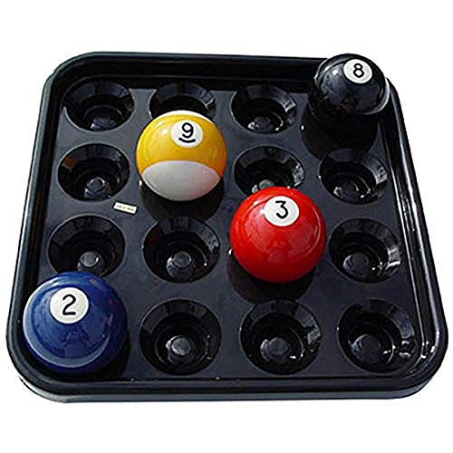 Sterling Gaming Black Plastic Pool Ball Tray