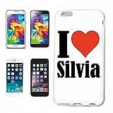 Reifen-Markt Hard Cover - Funda para teléfono móvil Compatible con Huawei P9 I Love Silvia