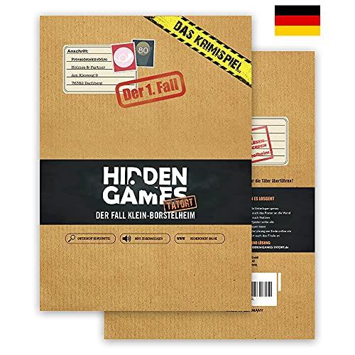 Hidden Games Tatort Krimispiel Fall 1 - Der Fall Klein-Borstelheim - Escape Room Spiel (Deutsche Edition)