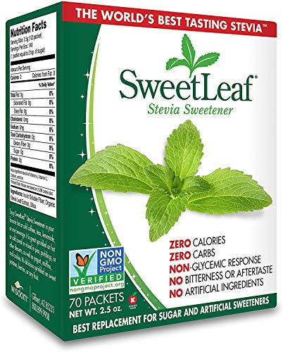Wisdom Natural, SweetLeaf, Natural Stevia Sweetner, 2.5 oz (70 Packets)
