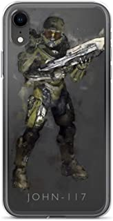iPhone 7 Plus/8 Plus Case Anti-Scratch Gamer Video Game Transparent Cases Cover John117 Gaming Computer Crystal Clear