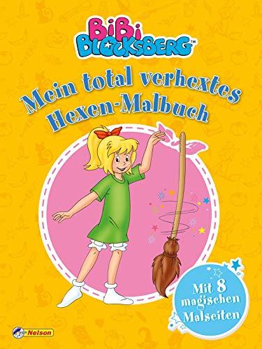 Bibi Blocksberg: Mein total verhextes Hexen-Malbuch: Mit 8 magischen Malseiten