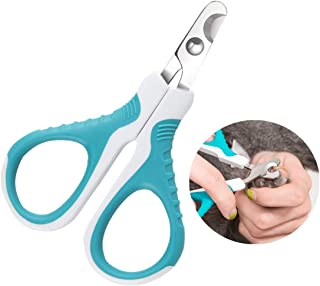Upgraded Pet Nail Clippers and Trimmer - Professional Pet Nail Clippers and Claw Trimmer for Cats, Small Dogs, and Any Sma...