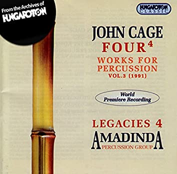 Cage: Works for Percussion, Vol. 3 (1991)