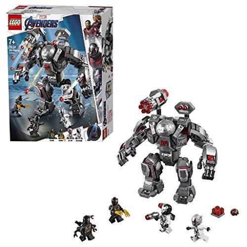 LEGO Super Heroes - Depredador de Máquina de Guerra, Robot de Juguete para recrear las Aventuras de los Vengadores (76124)