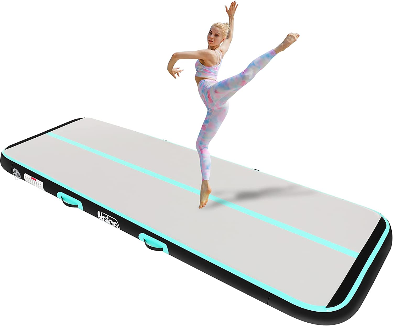 Naice Today's only Inflatable Air Gymnastics Training Mat Finally popular brand Tumbling 10ft