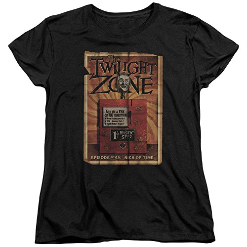 Twilight Zone Camiseta feminina CBS Seer da série TV