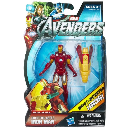 Hasbro Marvel Avengers Movie 4 Inch Action Figure Shatterblaster Mark VII Iron Man Super Articulated