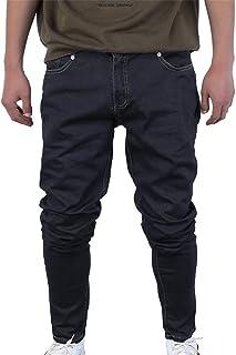 Skinny Jeans Men Drawstring Slim Denim Joggers