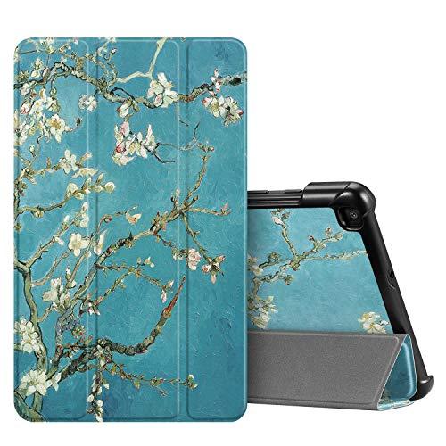 FINTIE SlimShell Case voor Samsung Galaxy Tab A 8.0 2019 (SM-T290 / SM-T295), Super dun lichtgewicht magnetische standaard cover voor Samsung Galaxy Tab A8 8-inch tablet, Z-bloesem