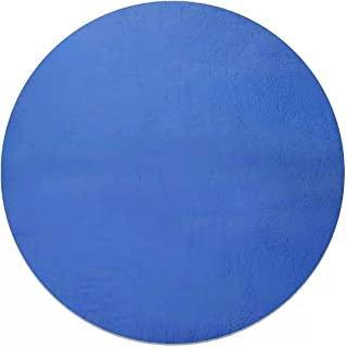 BKUS 8-15 Ft Round Pool Cover-Solar Pool Cover for Above Ground Pools, (blue, 12feet)