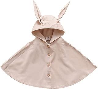 Ardorlove Baby Girls Sweater Coat Outerwear Hooded, Autumn Winter Shawl Cloak 0-4 Years